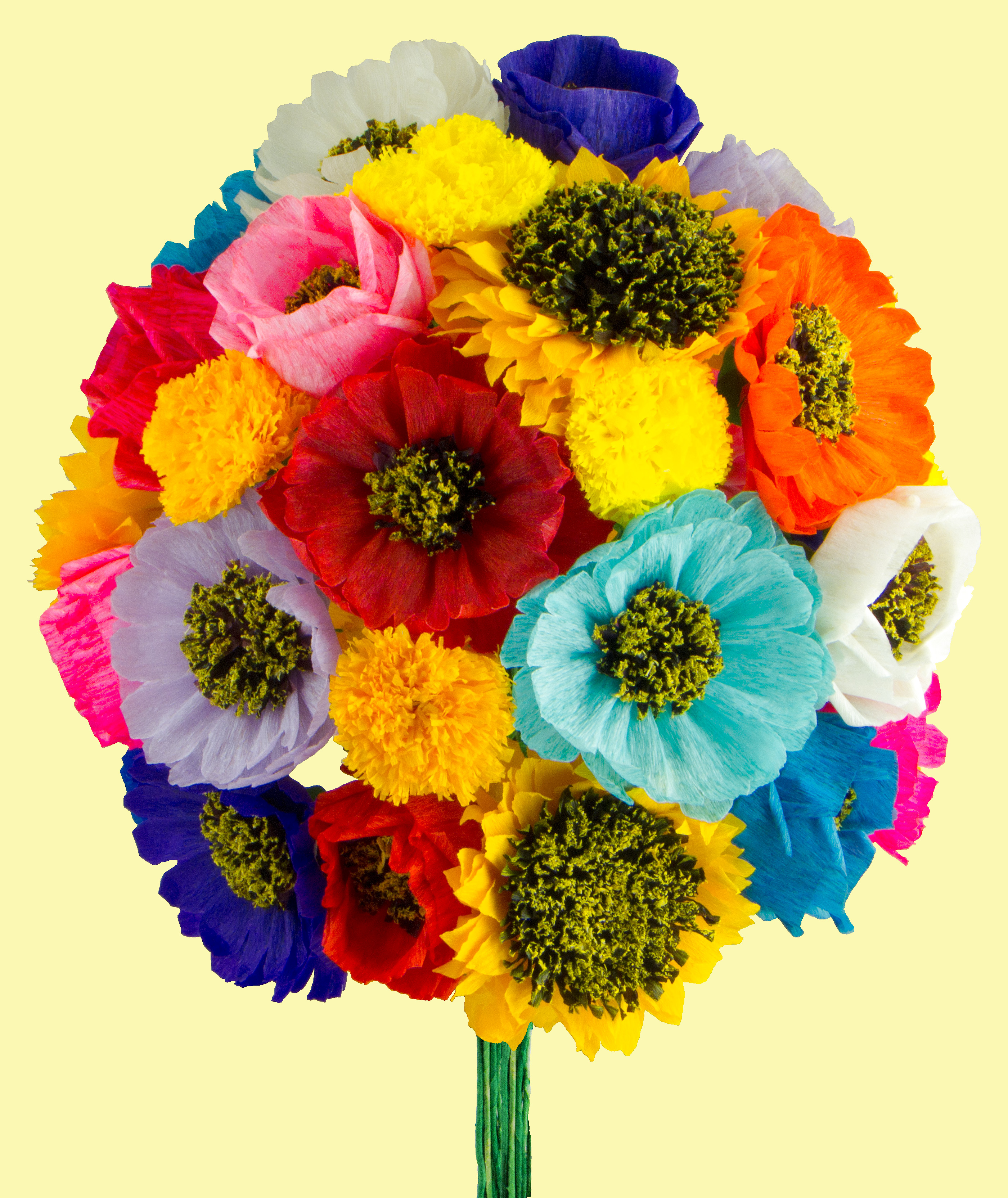 Mexican Paper Flowers . 8ad6ac1a52e